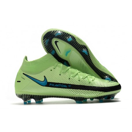 Nike Phantom GT Elite Dynamic Fit FG Boots Green Black