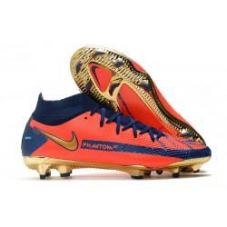 Nike Phantom GT Elite Dynamic Fit FG Boots Orange Blue Golden