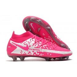 Nike Phantom GT Elite Dynamic Fit FG Boots Pink Blast White
