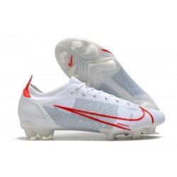 New Nike Mercurial Vapor XIV Elite FG White Red
