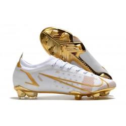 Nike Mercurial Vapor 14 Elite FG White Gold