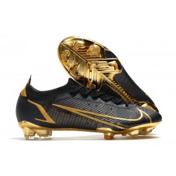 New Nike Mercurial Vapor XIV Elite FG Black Gold