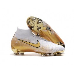 New Nike Mercurial Superfly 6 Elite FG World Cup - White Gold