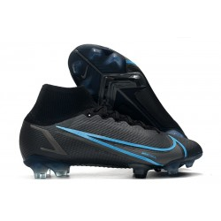 Nike Mercurial Superfly VIII Elite FG Black Iron Grey