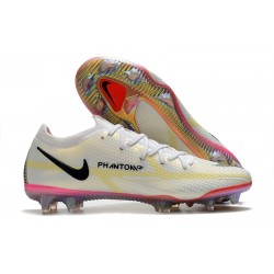 New Nike Phantom GT2 Elite FG White Black Bright Crimson Pink Blast
