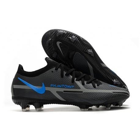 New Nike Phantom GT2 Elite FG Black Pack Black Iron Grey