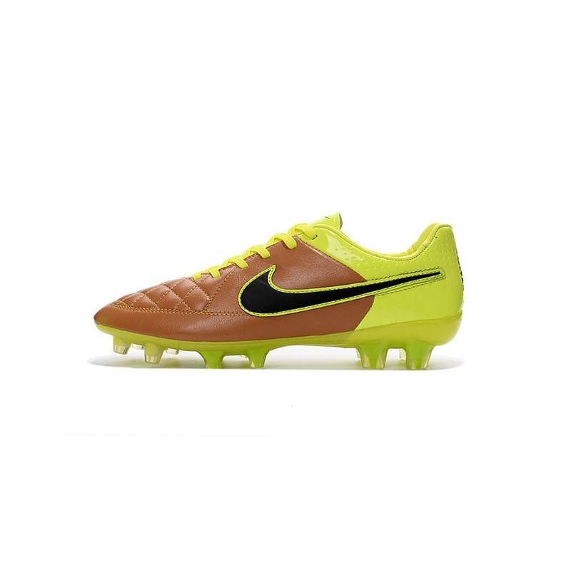 b726e4ba1053 Nike Tiempo Legend V FG Kangaroo Leather Soccer Cleats Canvas Black Volt