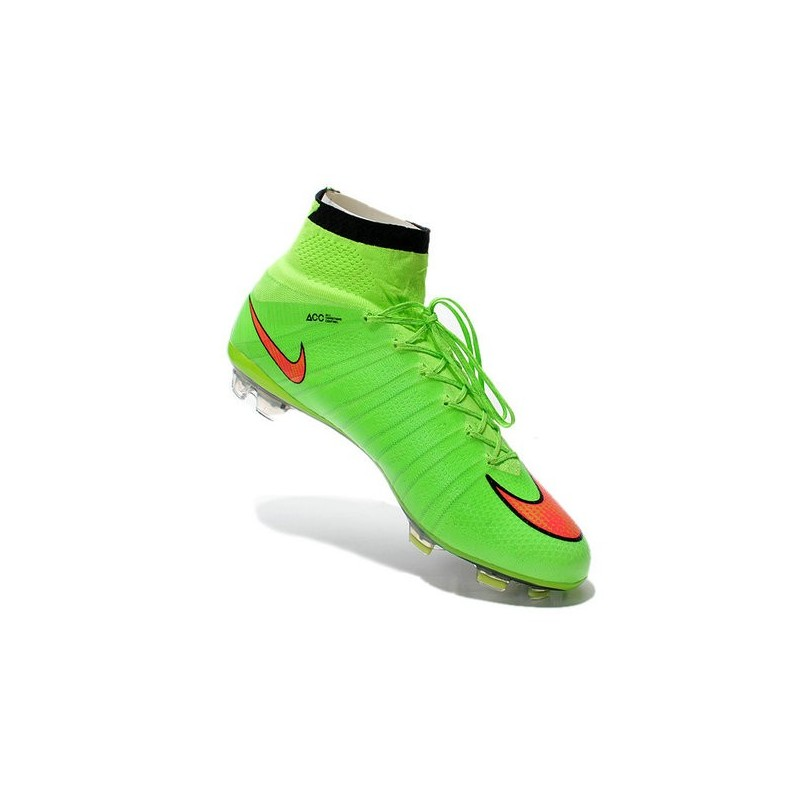 6ee5b1b4f953 Nike Mercurial Superfly IV FG Mens Football Shoes Green Hyper Punch
