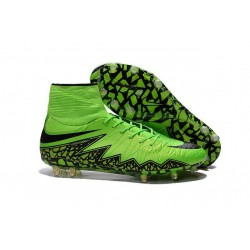 Nike Hypervenom Phantom II FG Firm Ground Soccer Cleats Green Black