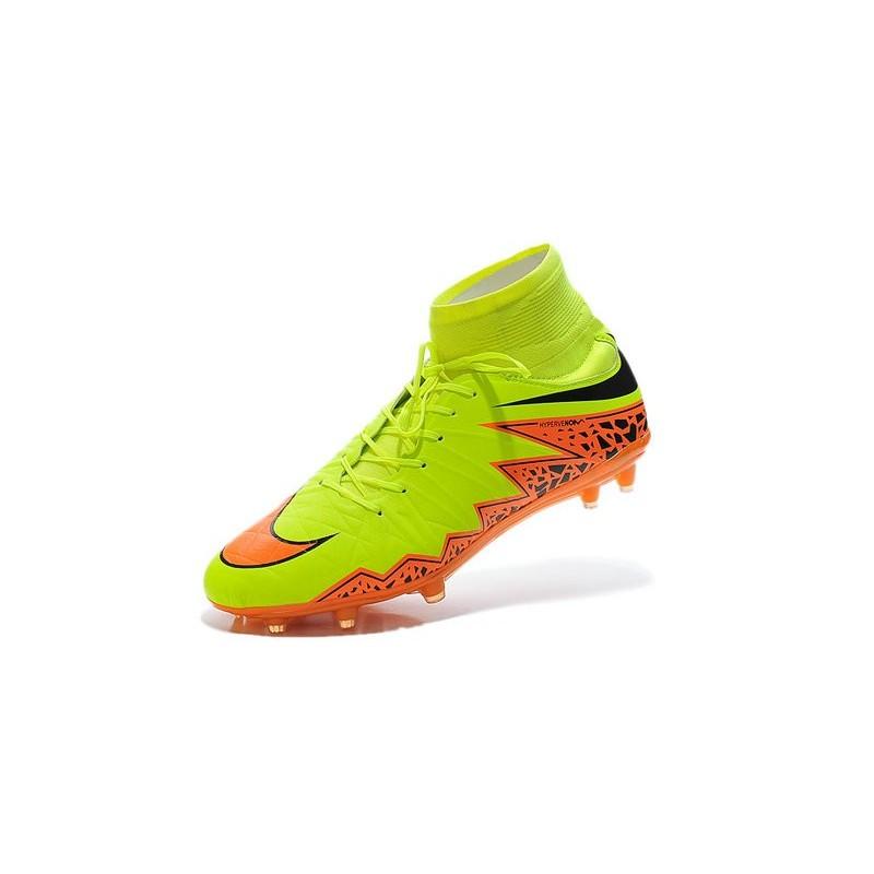 6403d6c63 ... cheapest nike hypervenom phantom ii fg firm ground soccer cleats yellow orange  black 39199 bf4d7