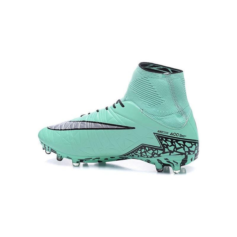 f1301041734 ... australia nike hypervenom phantom ii fg firm ground soccer cleats green  silver black 5e0df aa8a0