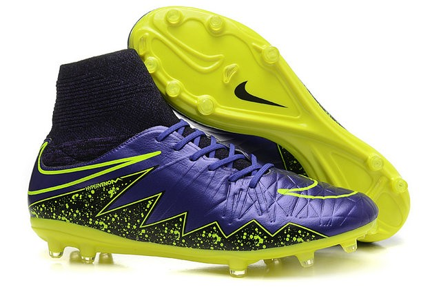 Contaminado lago Titicaca idiota  Nike Hypervenom Phantom II FG Firm Ground Soccer Cleats Purple Yellow
