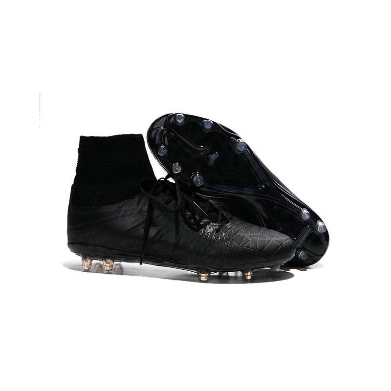 the best attitude 9e80d fc2db Nike Hypervenom Phantom II FG Firm Ground Soccer Cleats All Black Maximize.  Previous. Next