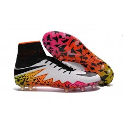New Neymar Nike Hypervenom Phantom 2 FG Football Boots White Red Black