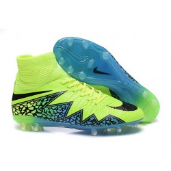 New Neymar Nike Hypervenom Phantom 2 FG Football Boots Green Blue Black