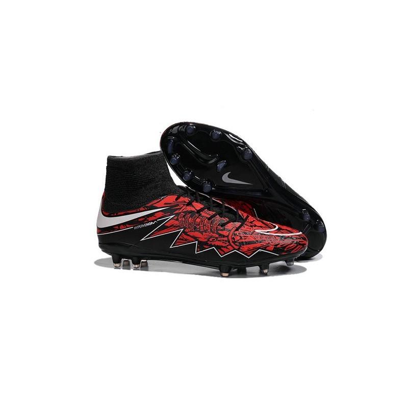 093306df35f New Robert Lewandowski Nike Hypervenom Phantom 2 FG Football Boots Black Red  Maximize. Previous. Next