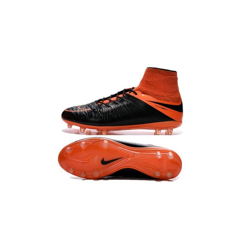 a5e7a148 New Neymar Nike Hypervenom Phantom 2 FG Football Boots Leather Orange Black