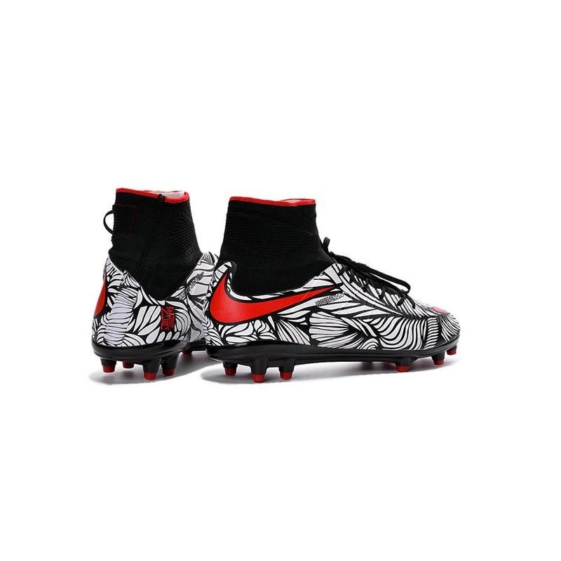 b7dacffffbf Nike Hypervenom Phantom II FG 2016 Mens Soccer Shoes Black Red White