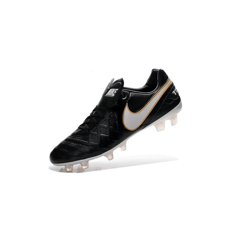 best sneakers f7aa7 6ad99 Nike Tiempo Legend VI K-leather ACC FG Soccer Boots in Black ...