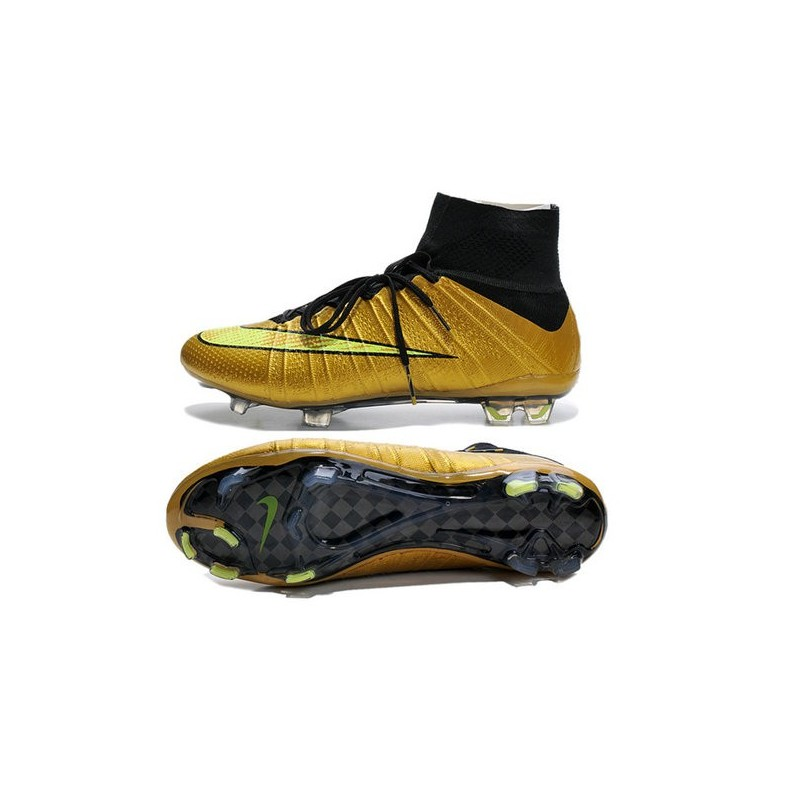 sneakers for cheap cd629 c541f Nike Mercurial Superfly IV FG Mens Football Shoes Golden Volt
