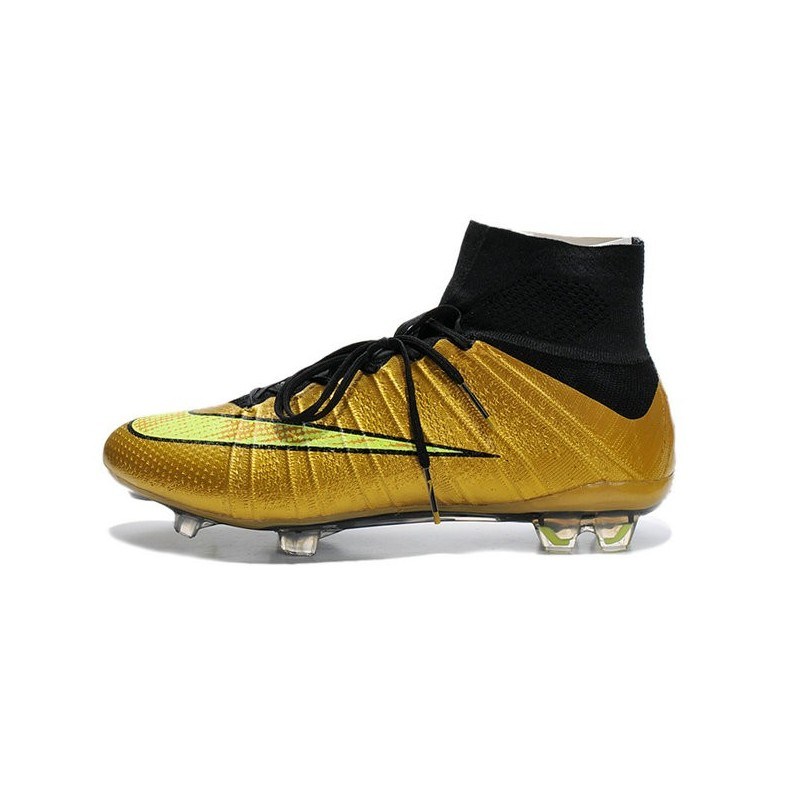 brand new 9fa58 24f3d ... nike mercurial superfly iv fg mens football shoes golden volt