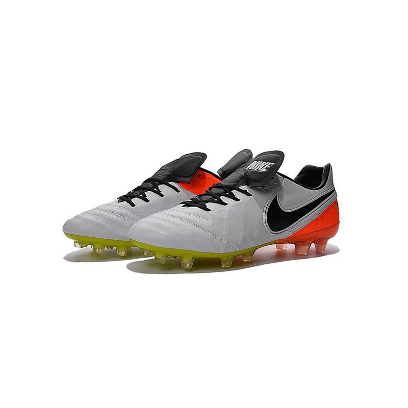 reputable site ca8ec 3a0e4 Nike Tiempo Legend 6 ACC FG Kangaroo Leather Cleats White ...