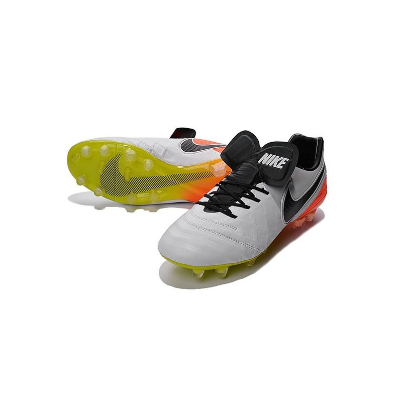 reputable site b1c2f 994ab Nike Tiempo Legend 6 ACC FG Kangaroo Leather Cleats White ...