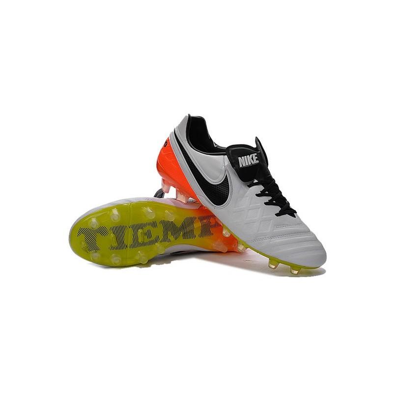 reputable site 30786 5e6ef Nike Tiempo Legend 6 ACC FG Kangaroo Leather Cleats White ...