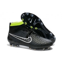 Nike Magista Obra FG ACC Mens Football Shoes in Black White