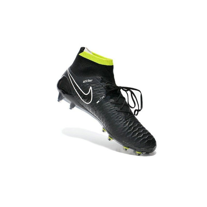 6215871f5dc Nike Magista Obra FG ACC Mens Football Shoes in Black White