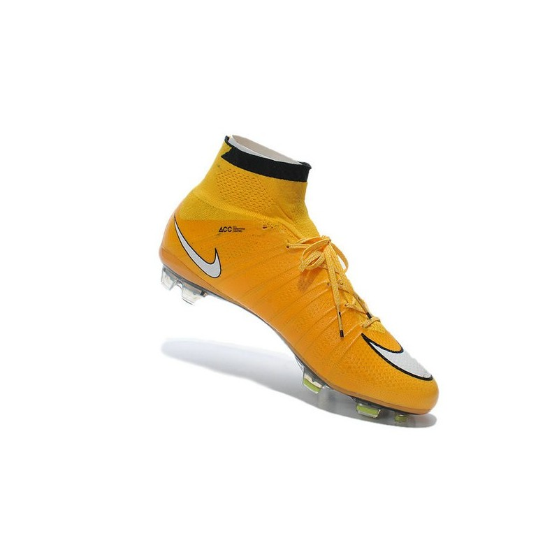 04d9ab69b Nike Mercurial Superfly IV FG Mens Football Shoes Laser Orange White