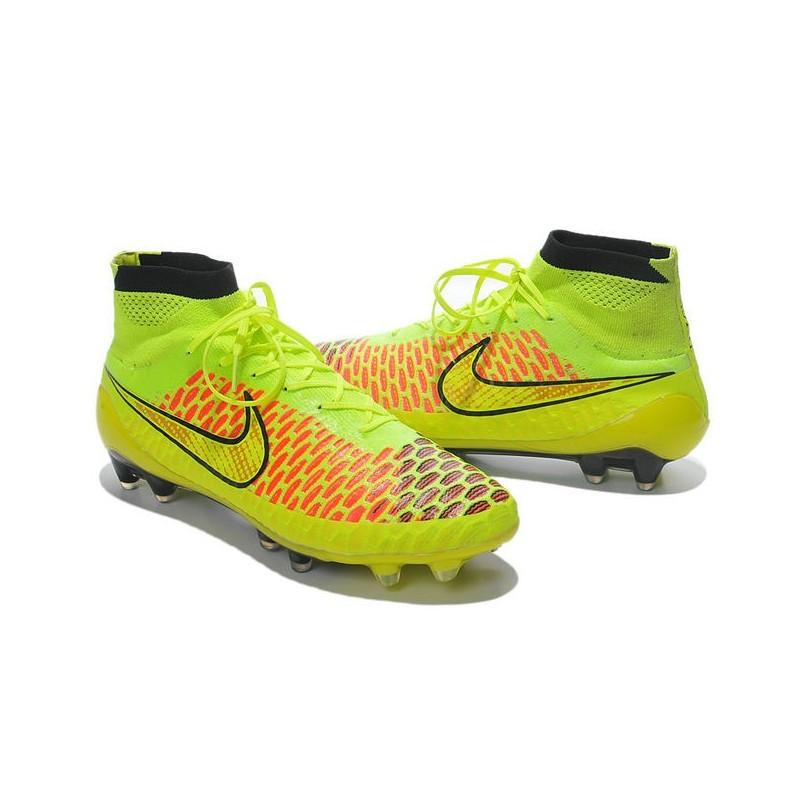 design de qualité bb441 bb5e4 Nike Magista Obra FG ACC Mens Football Shoes Volt Gold Hyper ...