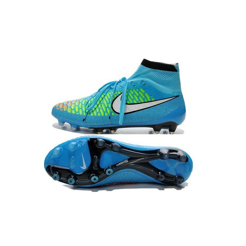 finest selection e0b4f 51103 Nike Magista Obra FG ACC Mens Football Shoes Blue White