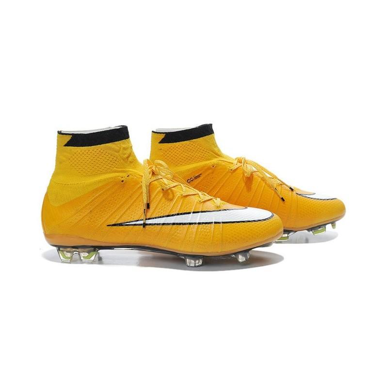 the best attitude fdaa2 3d0bf Nike Mercurial Superfly IV FG Mens Football Shoes Laser Orange White