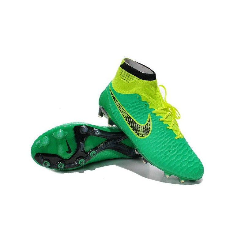 low priced f3a1d a2a8c ... denmark new nike magista obra fg firm ground soccer boots green black  0d460 4ea8f