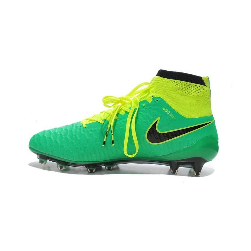 finest selection 5de05 c763d ... denmark new nike magista obra fg firm ground soccer boots green black  6fb4d 3c913