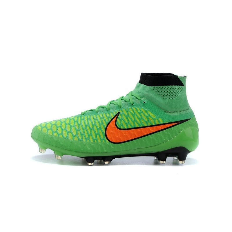 the latest a60d6 df823 New Nike Magista Obra FG Firm Ground Soccer Boots Green Oran
