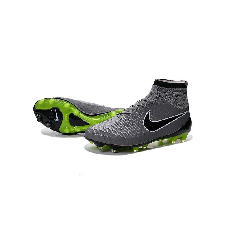 new nike magista obra fg firm ground soccer boots grey black