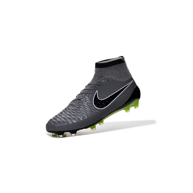 premium selection 70970 a53ea New Nike Magista Obra FG Firm Ground Soccer Boots Grey Black