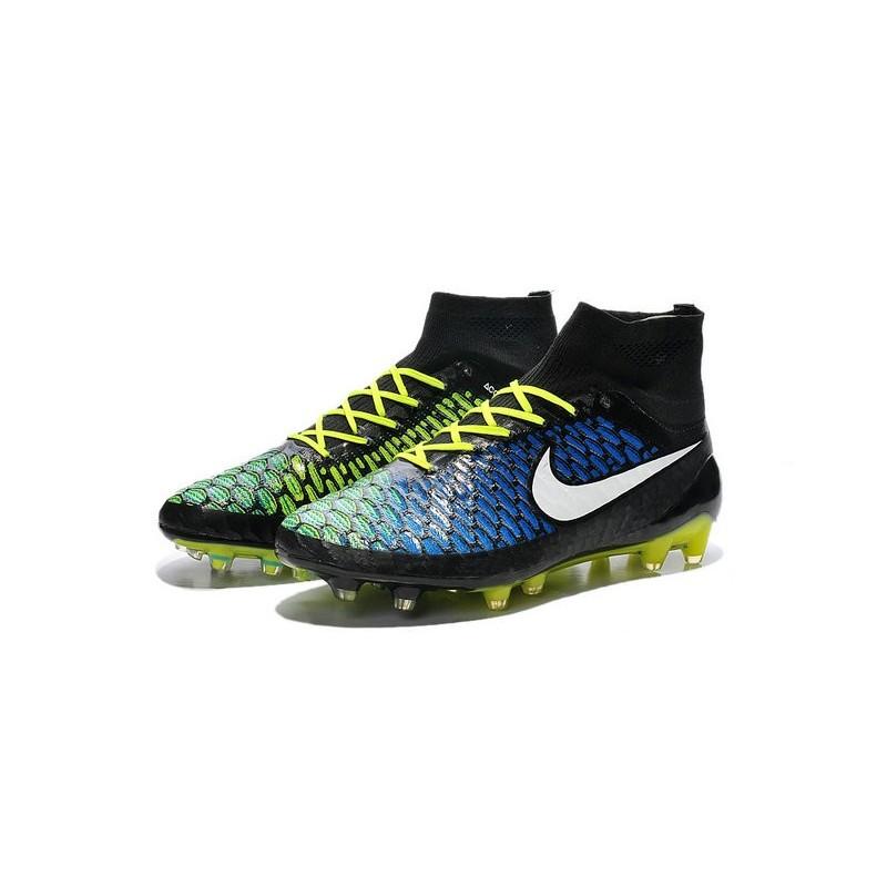 4a9c626254068 New Nike Magista Obra FG Firm Ground Soccer Boots Black Blue White