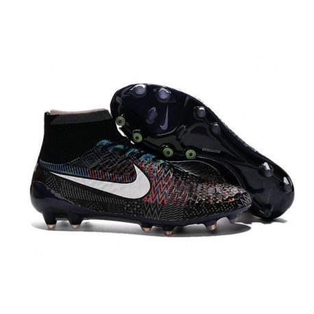 New Top 2016 Nike Magista Obra FG Black History Month BHM Black White