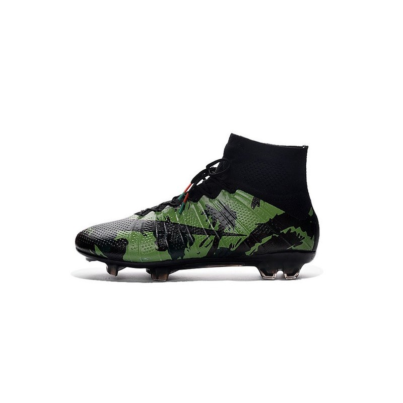 bf63144c9afc Cristiano Ronaldo New Soccer Boot Nike Mercurial Superfly FG Camo Green  Black