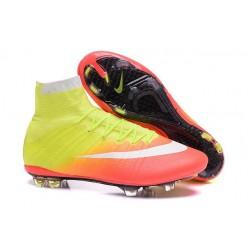 Cristiano Ronaldo New Soccer Boot Nike Mercurial Superfly FG Yellow Orange White