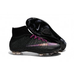 Cristiano Ronaldo Nike Mercurial Superfly 4 FG Soccer Boots Black Purple
