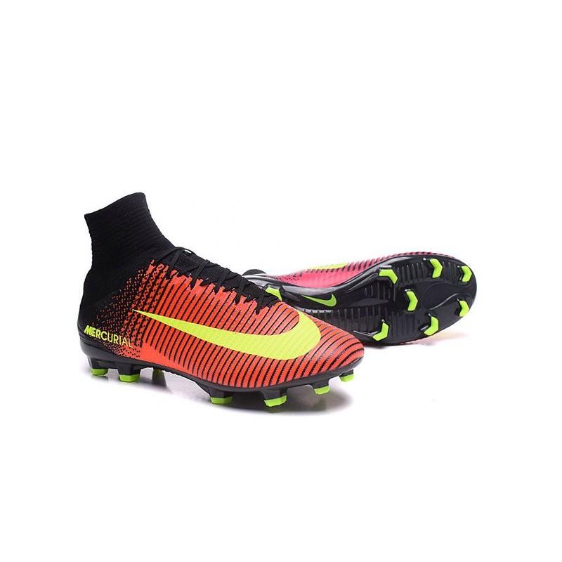 0243d7ba5 ... uk cristiano ronaldo new nike mercurial superfly v fg boots crimson  volt pink black 14522 0eb91