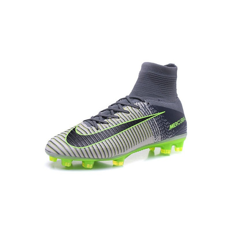 1c71743f5a7 Cristiano Ronaldo New Nike Mercurial Superfly V FG Boots in Grey Black  Maximize. Previous. Next