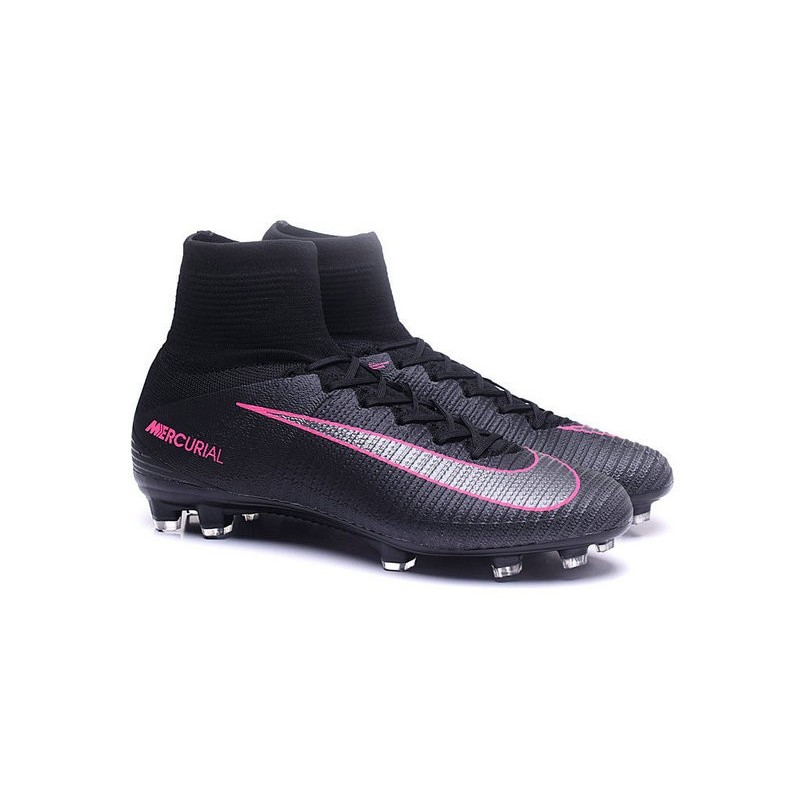 d27c1a0b2 Cristiano Ronaldo New Nike Mercurial Superfly V FG Boots Black Pink Blast  Maximize. Previous. Next
