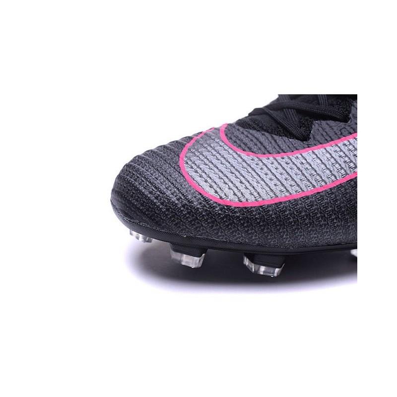 ef7631e43 Cristiano Ronaldo New Nike Mercurial Superfly V FG Boots Black Pink Blast  Maximize. Previous. Next