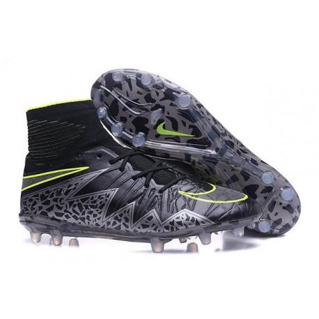 Nike Hypervenom Phantom II FG 2016 Mens Soccer Shoes Black Green