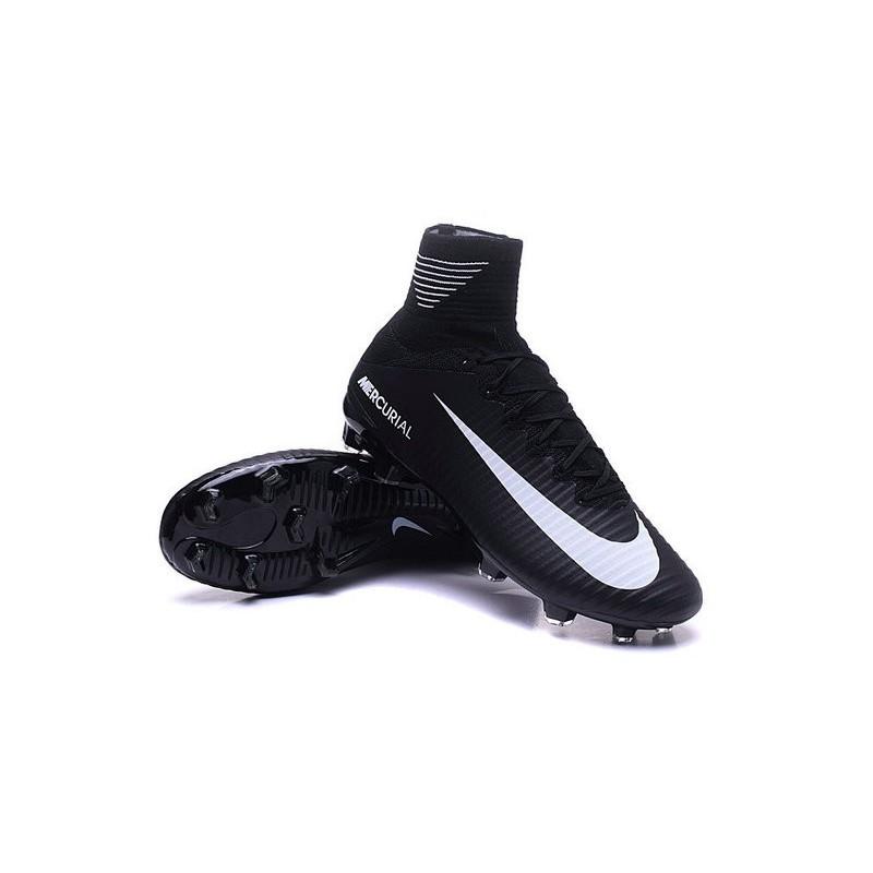 cristiano ronaldo new nike mercurial superfly v fg boots black white